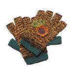 Berkshire Fingerless Gloves Teal