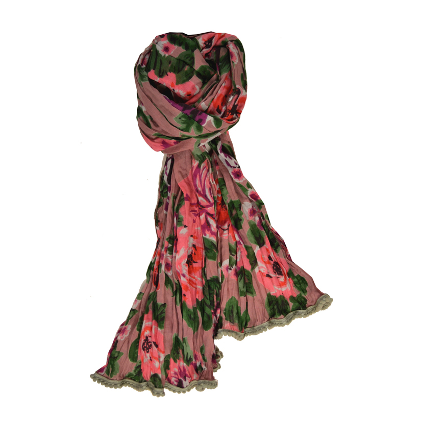 Tea Rose Scarf