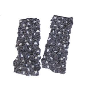 Polka Dot Velvet Cuffs