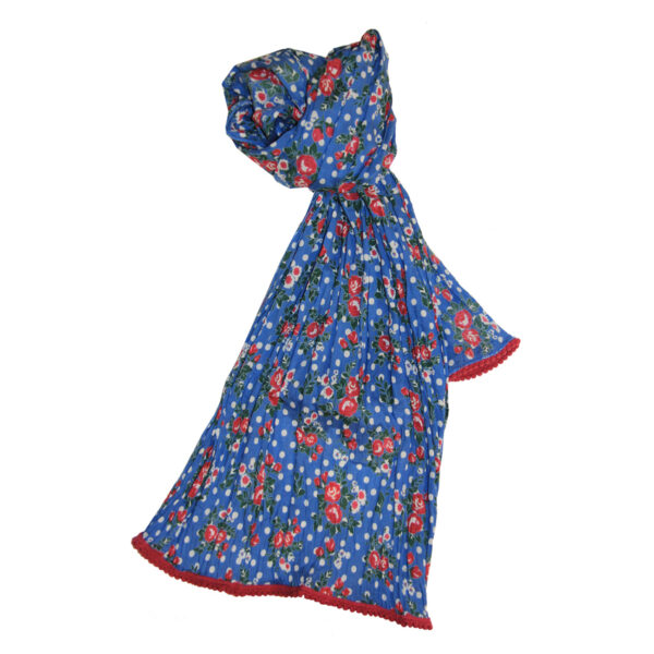 Dot Roses Scarf