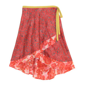 Rose Wrap Skirt