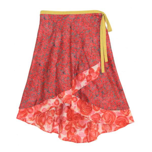 Rose Wrap Skirt